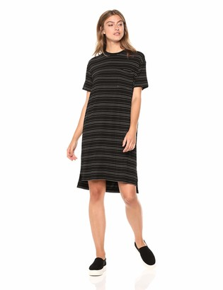 Daily Ritual Jersey Short-sleeve Boxy Pocket T-shirt Dress Casual