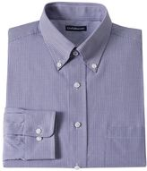 Croft & Barrow Men's Fitted Checked Dress Shirt