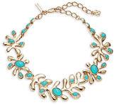 Oscar de la Renta Sea Tangle Goldtone Stone-Accented Statement Necklace