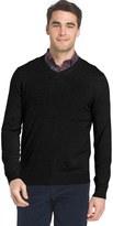 Izod Big & Tall Regular-Fit Wool-Blend V-Neck Sweater
