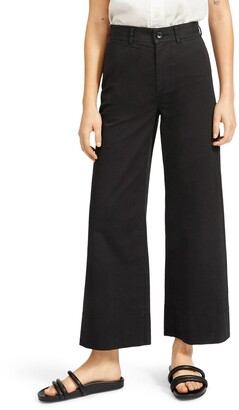 Everlane The Lightweight Wide Leg Crop Chino Pants