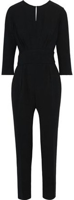 BA&SH Corfu Open-back Bead-embellished Crepe Jumpsuit
