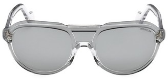 Moncler 51MM Injected Pilot Sunglasses