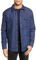 Bonobos Men's Slim Fit Lined Denim Shirt Jacket
