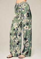 Bebe Petite Print Pajama Pants