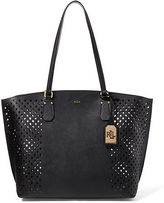 Ralph Lauren Perforated Tanner Tote