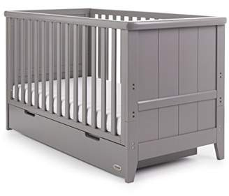 O Baby Obaby Belton Cot Bed, White