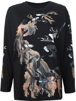 MM6 MAISON MARGIELA printed sweatshirt - women - Cotton - L