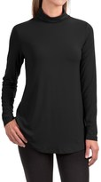 Specially made Stretch Rayon Turtleneck - Long Sleeve (For Women)