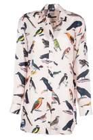 Paul Smith Bird Print Oversized Shirt