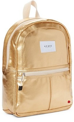 State Bags Kane Mini Metallic Backpack