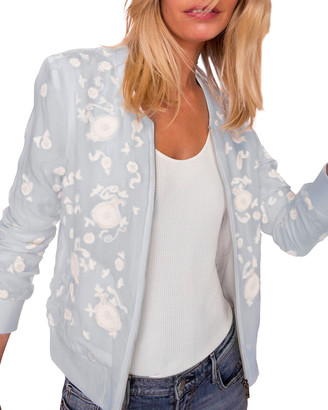 As By Df Marrakech Floral Embroidered Bomber Jacket