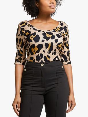 Somerset by Alice Temperley Animal Scoop Back Top, Multi