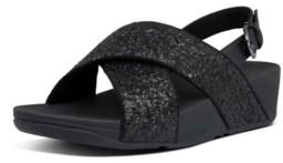 FitFlop Women's Lulu Glitter Back-Strap Sandal Women's Shoes