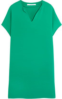 Diane von Furstenberg Kora Crepe Mini Dress - Jade