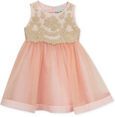 Rare Editions Baby Girls' Lace-Top Dress