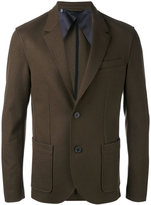 Lanvin blazer jacket - men - Cotton/Polyamide/Spandex/Elastane/Wool - 50