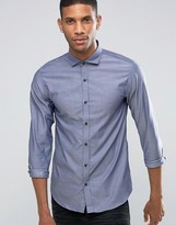 Selected Slim Long Sleeved Structured Shirt