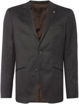 Peter Werth Men's Saul Fleck Jersey Two Button Blazer