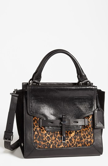Vince Camuto 'Max' Calf Hair Satchel, Medium
