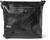 Balenciaga Creased-Leather Bag