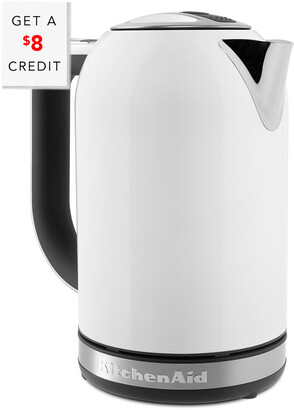 KitchenAid 1.7L Electric Kettle - Kek1722wh With $8 Credit
