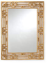 Chelsea House Pierced Wall Mirror - Gold