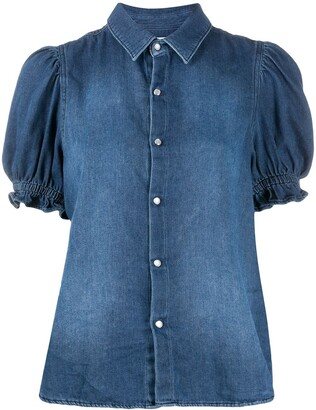 BA&SH Danee denim blouse