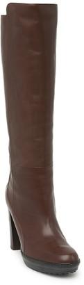 Tod's Leather Block Heel Boot