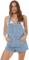 Wrangler Overall Washed Stripe Blue