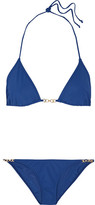 Tory Burch Gemini Triangle Bikini - Navy
