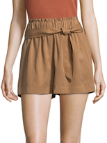 BCBGeneration Belted High Rise Short