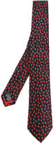 Paul Smith embroidered strawberries tie