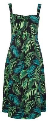 Dorothy Perkins Womens **Dp Maternity Multi Colour Leaf Print Camisole Dress