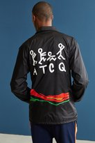 Urban Outfitters A Tribe Called Quest Figures Stripe Coach Jacket