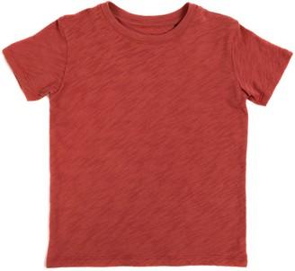 Atm Kids Slub Jersey Short Sleeve Tee - Cedar
