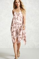 Forever 21 Floral Handkerchief Dress