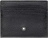 Montblanc MeisterstÃ1⁄4ck Grained Leather Card Holder