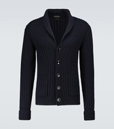 Thumbnail for your product : Tom Ford Cashmere shawl collar cardigan