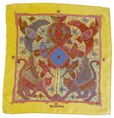 One Kings Lane Vintage Hermès Legende Kuna Pochette Scarf