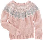 Osh Kosh Sparkle Fair Isle Sweater