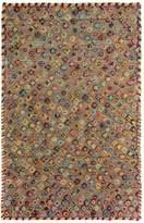 Arshs' Fine Rugs Modern Arya Rosamari Hand-Knotted Moroccan Wool Rug