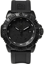 Luminox Colourmark 3051 Carbon-reinforced Stainless Steel And Rubber Watch - Black