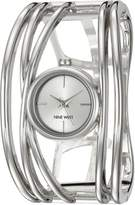 Nine West Women's Quartz Metal and Alloy Dress Watch, Color:-Toned (Model: NW/1975SVSB)