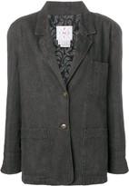 Fendi Pre Owned denim blazer