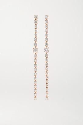 Anita Ko 18-karat Rose Gold Diamond Earrings - one size