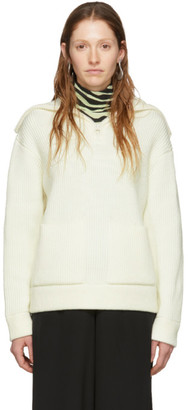 Proenza Schouler Off-White White Label Chunky Rib Sweater