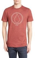 Volcom Men's 'Pin Line Stone' Graphic T-Shirt