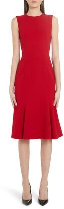 Dolce & Gabbana Fluted Hem Dress