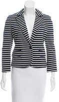 Tory Burch Striped Kamilla Blazer